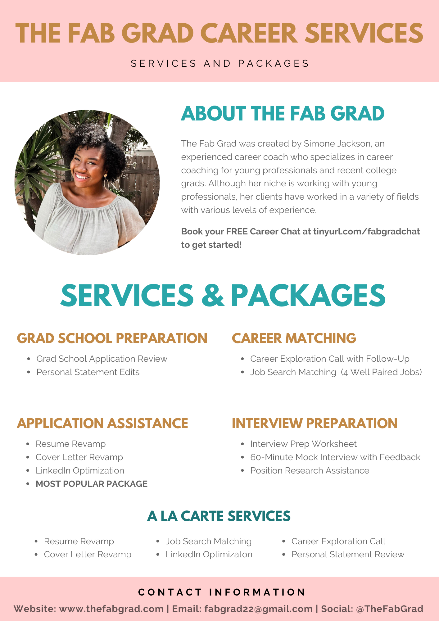 The Fab Grad Career Services