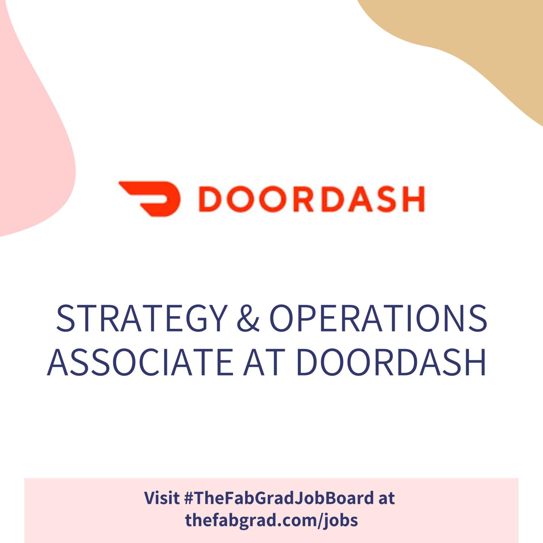 DoorDash - The Fab Grad Job Board