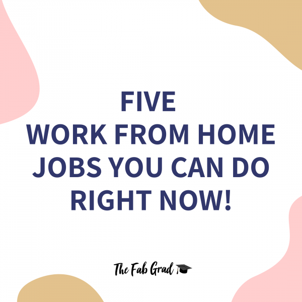 Five Work From Home Jobs