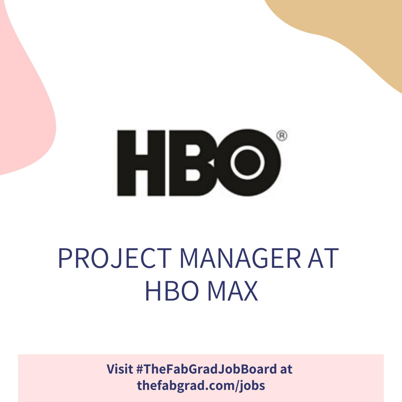 HBO Max Job