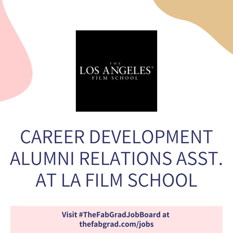 LA Film School Job